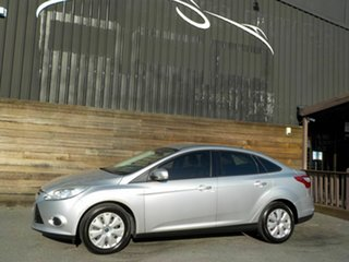 2014 Ford Focus LW MkII Ambiente PwrShift Silver 6 Speed Automatic Sedan