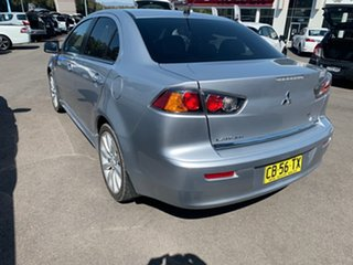 2010 Mitsubishi Lancer CJ MY10 Aspire Silver 6 Speed Constant Variable Sedan