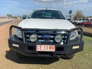 2013 Ford Ranger PX XLT Double Cab White 6 Speed Sports Automatic Utility