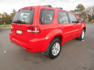 2011 Ford Escape ZD Red 4 Speed Automatic Wagon.