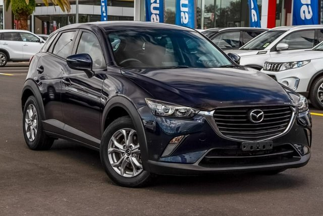 Used Mazda CX-3 DK4W7A Maxx SKYACTIV-Drive i-ACTIV AWD, 2016 Mazda CX-3 DK4W7A Maxx SKYACTIV-Drive i-ACTIV AWD Blue 6 Speed Sports Automatic Wagon
