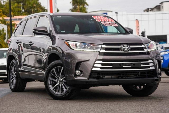 Used Toyota Kluger GSU50R GXL 2WD, 2018 Toyota Kluger GSU50R GXL 2WD Grey 8 Speed Sports Automatic Wagon