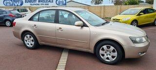 2005 Hyundai Sonata NF Beige 4 Speed Automatic Sedan.
