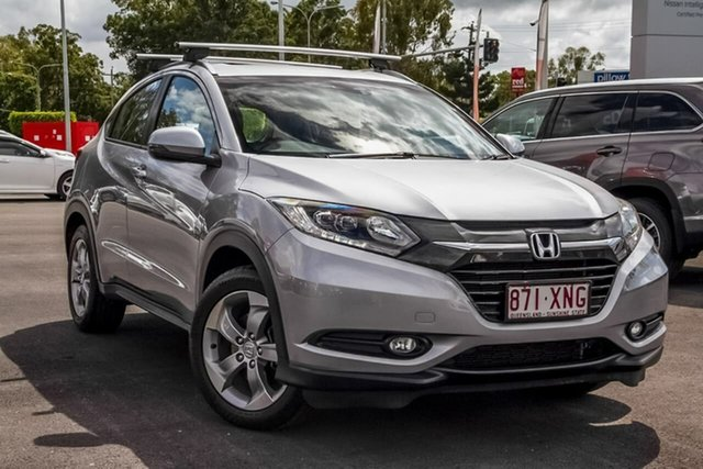Used Honda HR-V MY17 VTi-S, 2017 Honda HR-V MY17 VTi-S Silver 1 Speed Constant Variable Hatchback