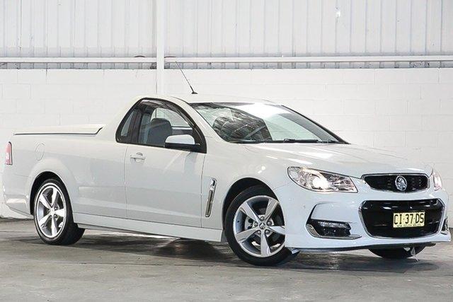 Used Holden Ute VF II MY16 SV6 Ute, 2016 Holden Ute VF II MY16 SV6 Ute White 6 Speed Sports Automatic Utility