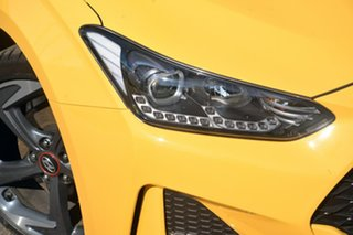 2019 Hyundai Veloster JS MY20 Turbo Coupe D-CT Premium Yellow 7 Speed Sports Automatic Dual Clutch