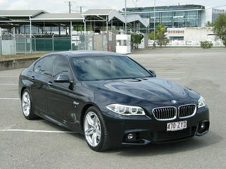 2015 BMW 535i F10 MY15 Luxury Line Black 8 Speed Automatic Sedan.