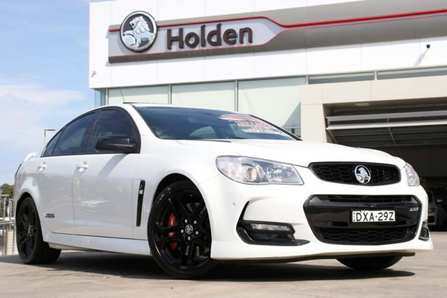 Used Holden Commodore VF II MY17 SS V Redline, 2017 Holden Commodore VF II MY17 SS V Redline White 6 Speed Manual Sedan