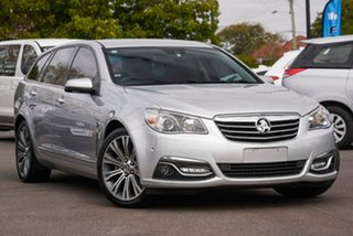 2014 Holden Calais VF MY15 V Sportwagon Silver 6 Speed Sports Automatic Wagon.