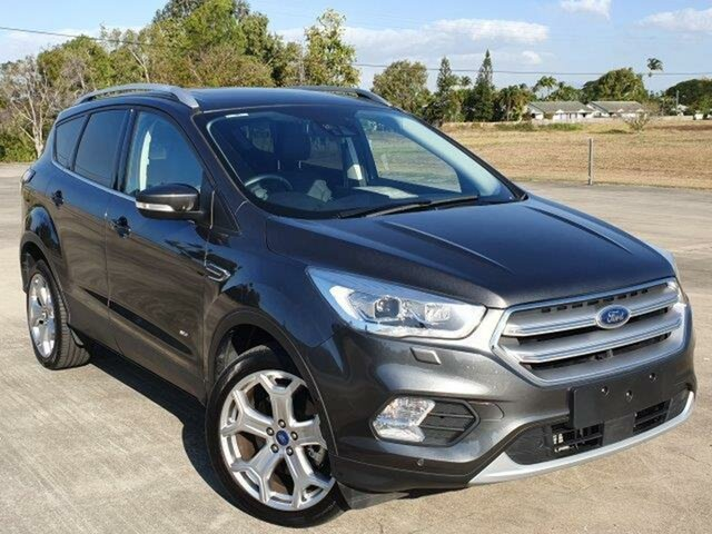 Used Ford Escape ZG 2018.00MY Titanium Townsville, 2018 Ford Escape ZG 2018.00MY Titanium Magnetic 6 Speed Sports Automatic SUV