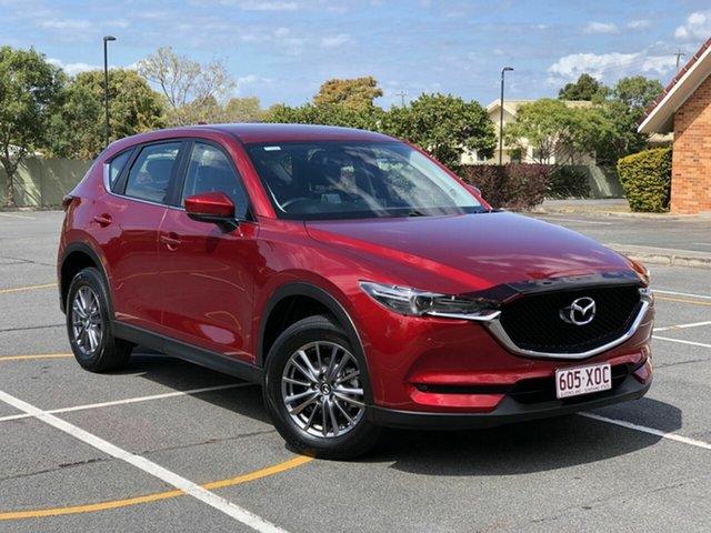 Used Mazda CX-5 KF4WLA Touring SKYACTIV-Drive i-ACTIV AWD, 2017 Mazda CX-5 KF4WLA Touring SKYACTIV-Drive i-ACTIV AWD Red 6 Speed Sports Automatic Wagon