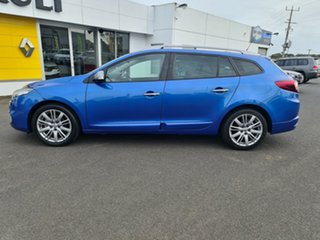 2014 Renault Megane III K95 Phase 2 GT-Line Sportwagon EDC Blue 6 Speed Sports Automatic Dual Clutch