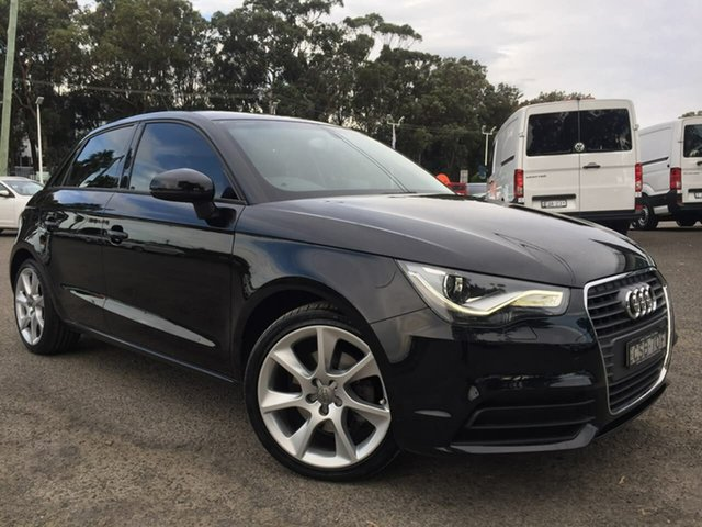 Used Audi A1 8X MY14 Attraction Sportback S Tronic, 2013 Audi A1 8X MY14 Attraction Sportback S Tronic Black 7 Speed Sports Automatic Dual Clutch
