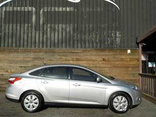 2014 Ford Focus LW MkII Ambiente PwrShift Silver 6 Speed Automatic Sedan.