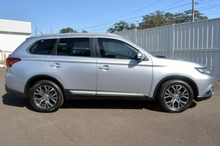 2015 Mitsubishi Outlander ZK MY16 XLS 4WD Silver 6 Speed Sports Automatic Wagon.