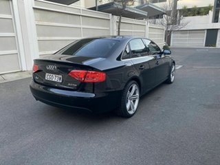 2012 Audi A4 B8 8K MY12 Multitronic Black 8 Speed Constant Variable Sedan