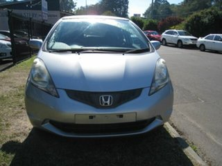2009 Honda Jazz GE GLi Silver 5 Speed Automatic Hatchback.