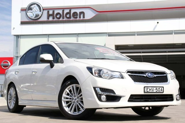 Used Subaru Impreza G4 MY15 2.0i-S Lineartronic AWD, 2015 Subaru Impreza G4 MY15 2.0i-S Lineartronic AWD Crystal White Pearl 6 Speed Constant Variable