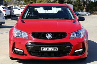 2017 Holden Commodore Vfii MY16 SS Black Edition Red Hot 6 Speed Manual Sedan