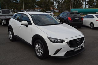 2015 Mazda CX-3 DK2W7A Neo SKYACTIV-Drive White 6 Speed Sports Automatic Wagon.
