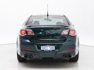 2013 Holden Special Vehicles ClubSport Gen F R8 Green 6 Speed Manual Sedan