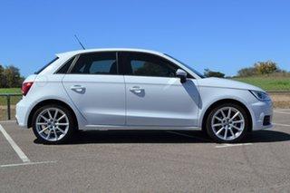 2015 Audi A1 8X MY15 Sportback S Tronic White 7 Speed Sports Automatic Dual Clutch Hatchback.