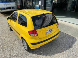 2005 Hyundai Getz TB Upgrade 1.6 Yellow 5 Speed Manual Hatchback