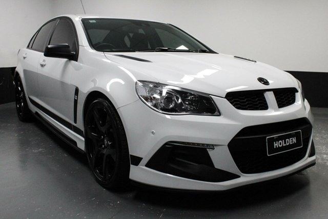Used Holden Special Vehicles ClubSport Gen-F2 MY16 R8 SV Black, 2016 Holden Special Vehicles ClubSport Gen-F2 MY16 R8 SV Black White 6 Speed Manual Sedan