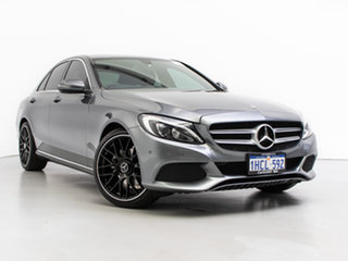 2018 Mercedes-Benz C200 205 MY18 Selenite Grey 9 Speed Automatic G-Tronic Sedan.