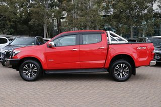 2017 Holden Colorado RG MY18 LTZ (4x4) Red 6 Speed Automatic Crew Cab Pickup