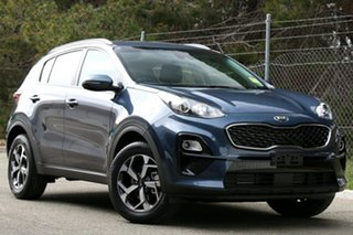 2020 Kia Sportage QL MY21 S 2WD Mercury Blue 6 Speed Automatic Wagon.
