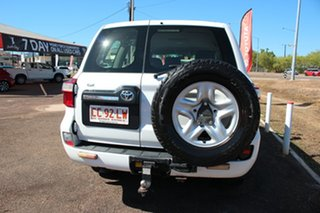 2012 Toyota Landcruiser VDJ200R MY10 GX Glacier White 6 Speed Sports Automatic Wagon