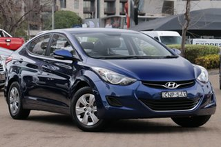 2013 Hyundai Elantra AD.2 Active Navy Blue Automatic Sedan.