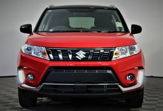 2020 Suzuki Vitara LY Series II 2WD Bright Red & Cosmic Black 6 Speed Sports Automatic Wagon.