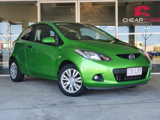 Used Mazda 2 DE10Y1 Neo Brendale, 2008 Mazda 2 DE10Y1 Neo Green 5 Speed Manual Hatchback