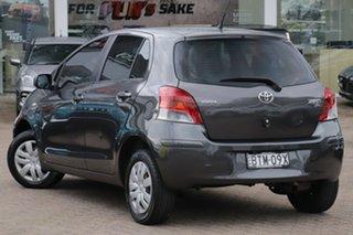 2010 Toyota Yaris NCP90R 10 Upgrade YR Grey 5 Speed Manual Hatchback.