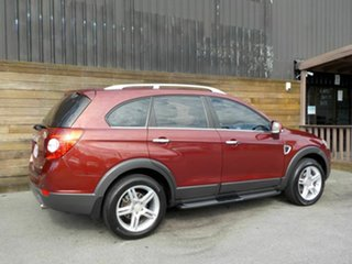 2007 Holden Captiva CG MY08 LX AWD Red 5 Speed Sports Automatic Wagon