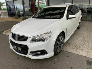 2015 Holden Commodore VF MY15 SS-V White 6 Speed Manual Sedan.