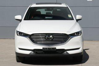 2020 Mazda CX-8 KG4W2A 100th Anniversary SKYACTIV-Drive i-ACTIV AWD Snowflake White Pearl 6 Speed