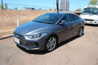 2017 Hyundai Elantra AD MY17 Elite Grey 6 Speed Sports Automatic Sedan.