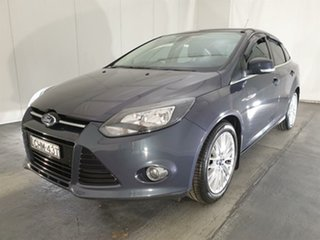 2012 Ford Focus LW Sport PwrShift Grey 6 Speed Automatic Sedan.
