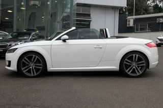 2015 Audi TT FV MY16 Sport S Tronic Quattro White 6 Speed Sports Automatic Dual Clutch Coupe