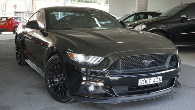 Used Ford Mustang FM GT Fastback, 2016 Ford Mustang FM GT Fastback Black 6 Speed Manual Fastback