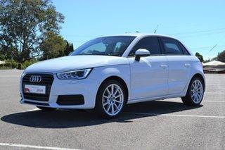 2015 Audi A1 8X MY15 Sportback S Tronic White 7 Speed Sports Automatic Dual Clutch Hatchback