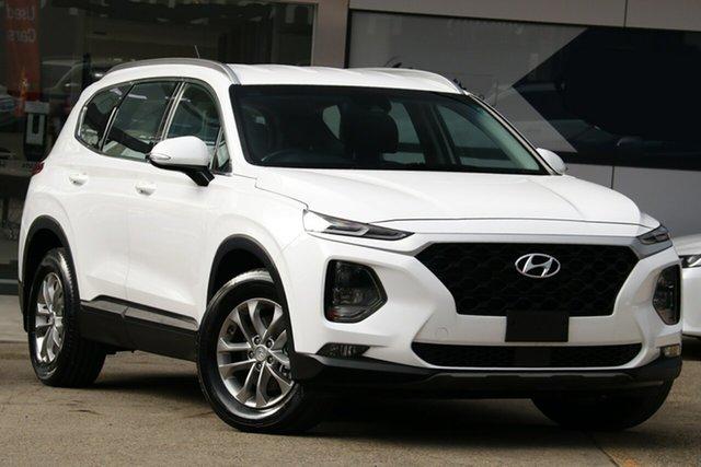 Used Hyundai Santa Fe TM Active CRDi (AWD), 2018 Hyundai Santa Fe TM Active CRDi (AWD) White 8 Speed Automatic Wagon
