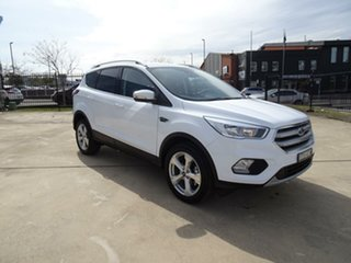 2019 Ford Escape ZG 2019.75MY Trend Frozen White 6 Speed Sports Automatic SUV.