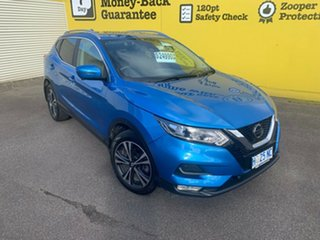 2018 Nissan Qashqai J11 Series 2 ST-L X-tronic Vivid Blue 1 Speed Constant Variable Wagon.