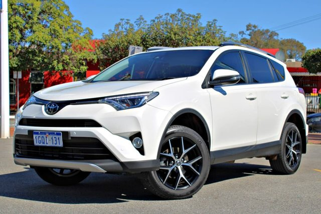 Used Toyota RAV4 ZSA42R GXL 2WD, 2018 Toyota RAV4 ZSA42R GXL 2WD White 7 Speed Constant Variable Wagon