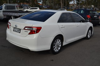 2014 Toyota Camry ASV50R Altise White 6 Speed Sports Automatic Sedan