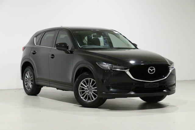 Used Mazda CX-5 MY17.5 (KF Series 2) Maxx Sport (4x2), 2018 Mazda CX-5 MY17.5 (KF Series 2) Maxx Sport (4x2) Black 6 Speed Automatic Wagon